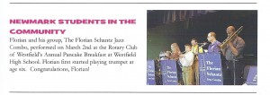 Newmark School Newsletter, March 2013